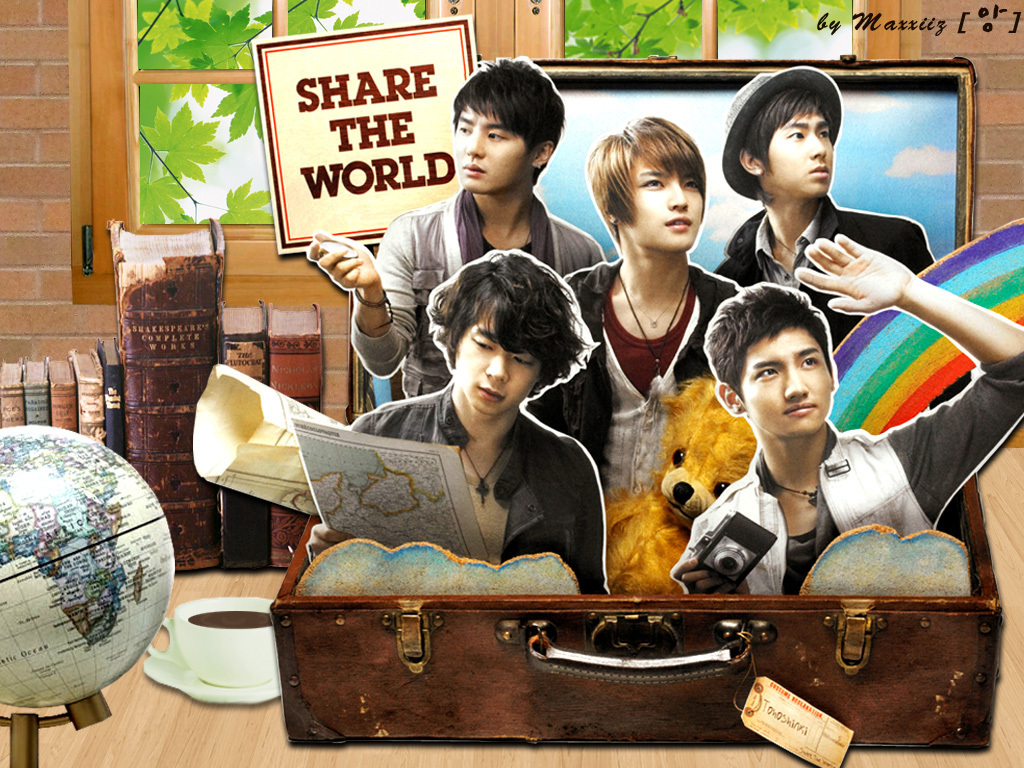 Tohoshinki – Share The World