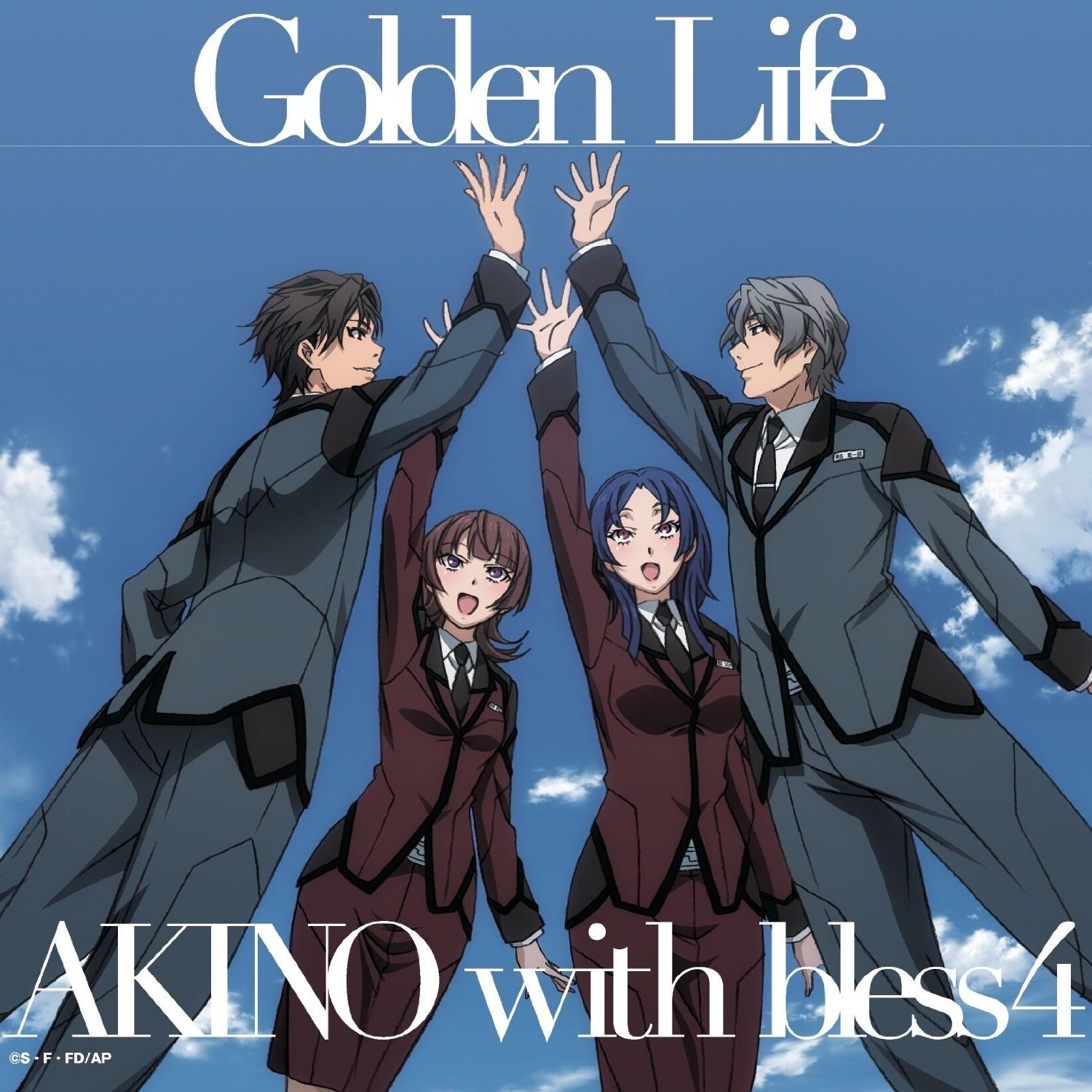 AKINO with bless4 - Golden Life